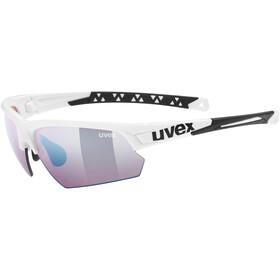 UVEX Sportstyle 224 Colorvision Pyöräilylasit, white/outdoor
